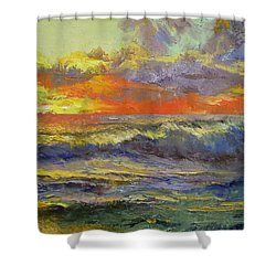 California Dreaming Shower Curtain by Michael Creese