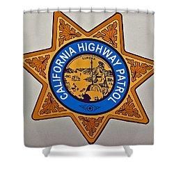 California Highway Patrol Shower Curtain