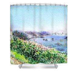 Lighthouse Trinidad California Shower Curtain