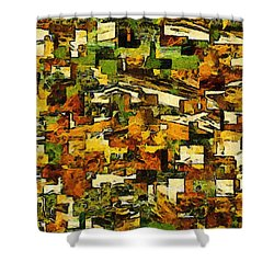 California Shower Curtain by RC deWinter