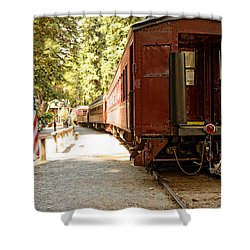 California Western Railroad Shower Curtain