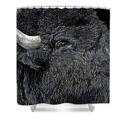 Call Of The Prairie Shower Curtain