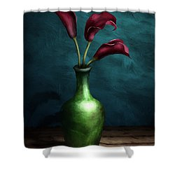Calla Lilies I Shower Curtain
