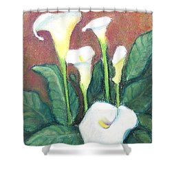 Calla Quintet Shower Curtain