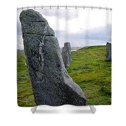 Callanish 3 Shower Curtain