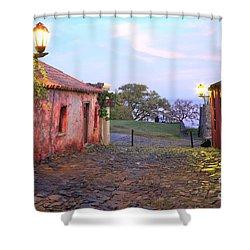Shower Curtain featuring the photograph Calle De Los Suspiros by Bernardo Galmarini