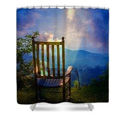 Just Imagine Shower Curtain by John Haldane