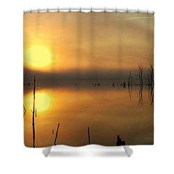 Calm At Dawn Shower Curtain