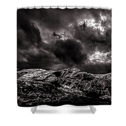 Calm Before The Storm Shower Curtain by Bob Orsillo