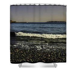 Calm Seas Shower Curtain