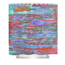 Calmer Waters Shower Curtain by Stephanie Grant
