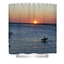 Calming Surf Shower Curtain