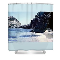 Calming Waves Shower Curtain
