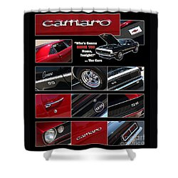 Camaro-drive - Poster Shower Curtain by Gary Gingrich Galleries