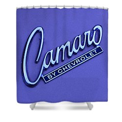 Camaro Shower Curtain by Frozen in Time Fine Art Photography