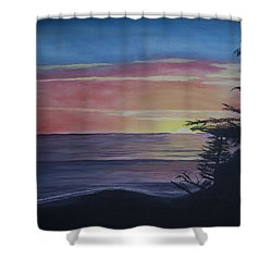 Cambria Setting Sun Shower Curtain