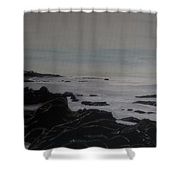 Cambria Tidal Pools Shower Curtain