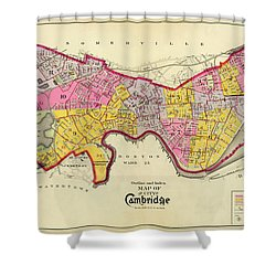 Cambridge Massachusetts 1903 Shower Curtain by Andrew Fare