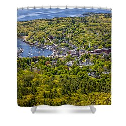 Camden Harbor View Shower Curtain by Susan Cole Kelly