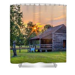 Camden Sunset Shower Curtain