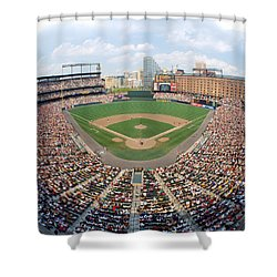 Camden Yards Baltimore Md Shower Curtain by Panoramic Images