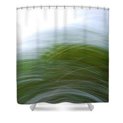 Camera Toss Shower Curtain