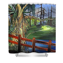 Camino Real Park Shower Curtain