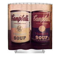 Campbells Redux 2 Shower Curtain