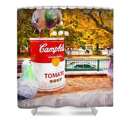 Campbell's Soup Shower Curtain