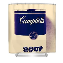 Campbells Soup Shower Curtain