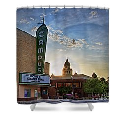 Campus At Sunrise Shower Curtain