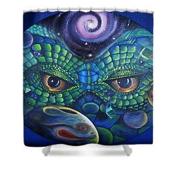 Can You See Me Now Shower Curtain by Sherry Strong