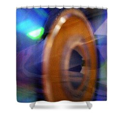 Shower Curtain featuring the photograph Can You Tell What It Is Yet? by Martin Howard