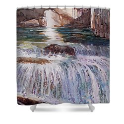 Canada Cascade Shower Curtain