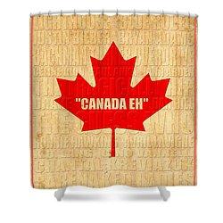 Canada Music 1 Shower Curtain