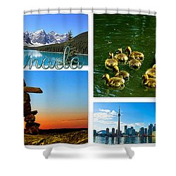 Canada Shower Curtain by The Creative Minds Art and Photography