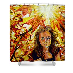 Canadian Autumn Shower Curtain