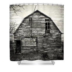 Canadian Barn Shower Curtain