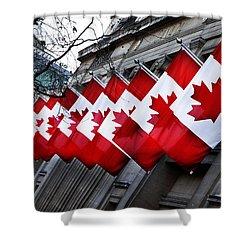 Canadian Embassy London Shower Curtain by Mark Rogan