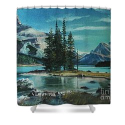 Canadian Landscape  Shower Curtain