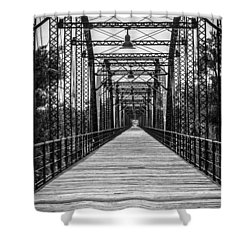 Canadian River Bridge Shower Curtain