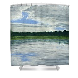Canadian Serenity Shower Curtain