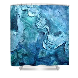 Canal Series I  Shower Curtain