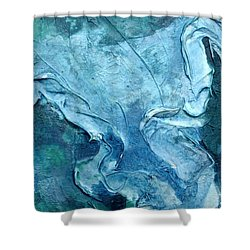 Canal Series IIi Shower Curtain