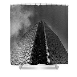 Canary Wharf London 3 Shower Curtain