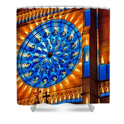 Candle Lights On Walls Shower Curtain