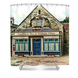 Candleford Post Office Shower Curtain