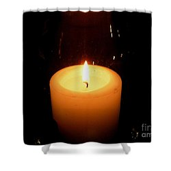 Candlelight Moments Shower Curtain