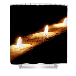 Candlelight Shower Curtain