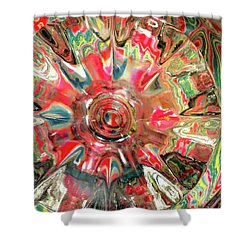 Candy Shower Curtain by Donna Blackhall